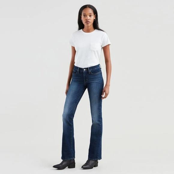 Levi's Denim - Levi's 315 Shaping Bootcut Jeans Medium Wash